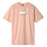 HUF YOUTH OF TODAY T-SHIRT CORAL PINK