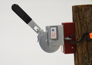Cleat-Mate with retriever, post/tree mount with tie-down strap