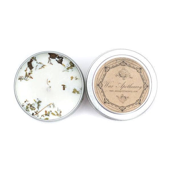 Patchouli Botanical Travel Tin Candle 4oz