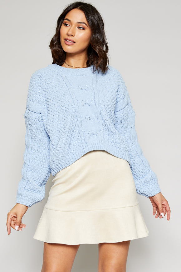 Waverly Crop Sweater