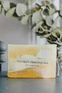 Coconut Lemongrass Soap