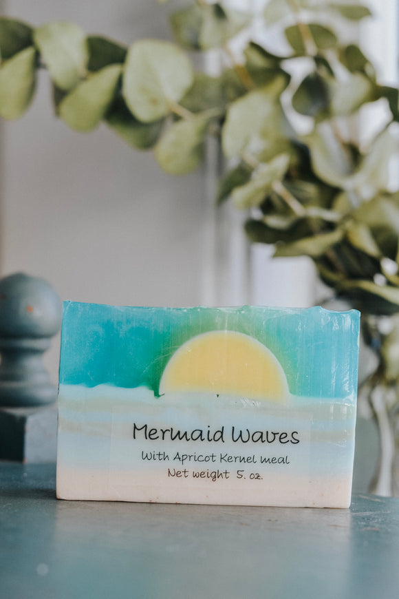 Mermaid Waves Soap