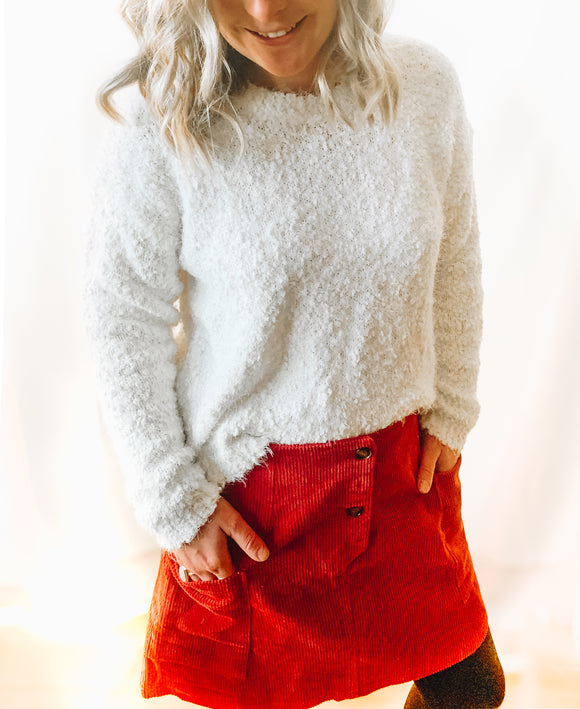 Fireside Ivory Sweater