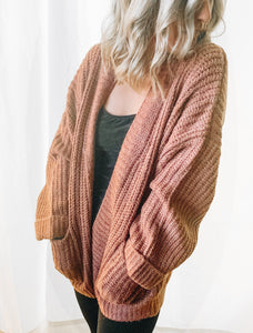 Eyelash Mauve Sweater