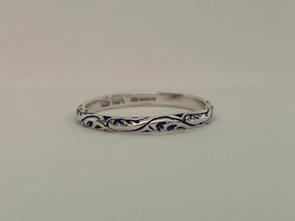 Sweet Filigree Stack Ring