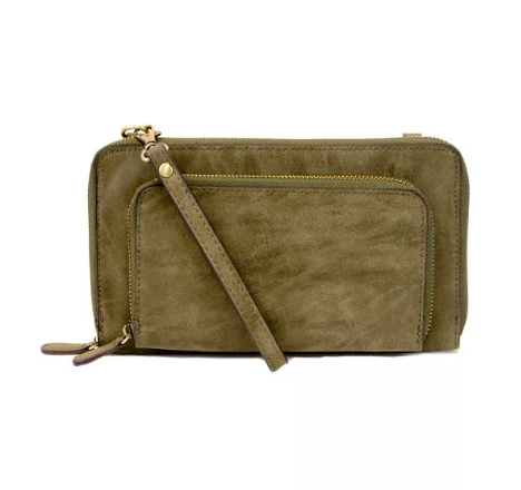 Brushed Olive Mini Crossbody