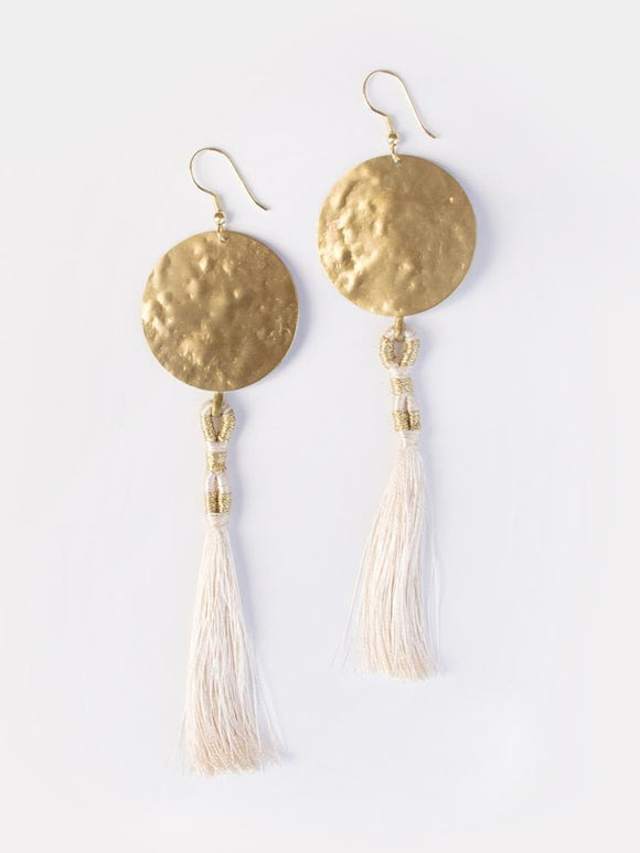 La Luz Gold Earrings
