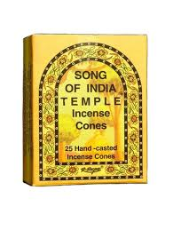 Song of India Cone Incense