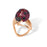 Movable Ruby Ring
