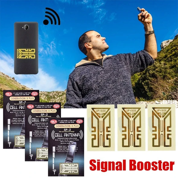 Cell Phone Signal Enhancement Stickers-Signal Booster(10PCS)