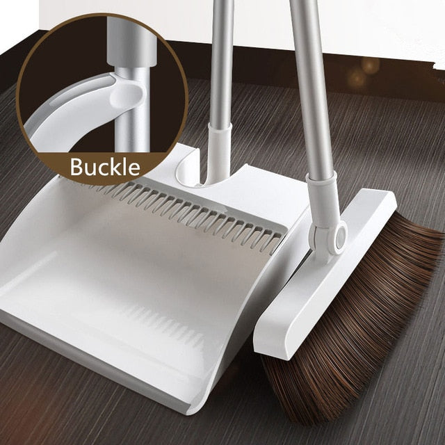 Magnetic Broom and Dustpan