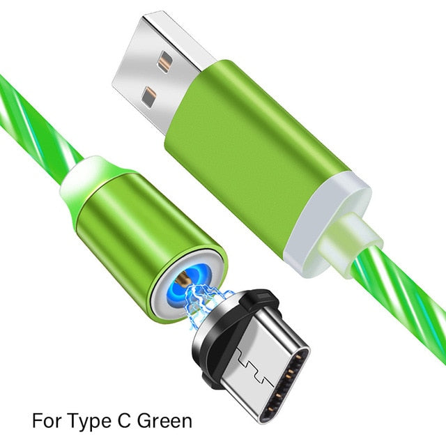 Magnetic LED Super Charging Cable