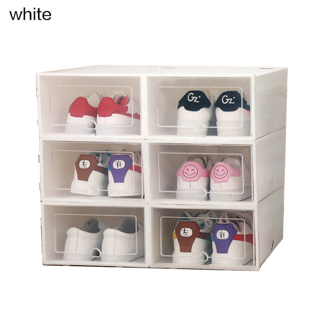 Drawer Type Shoe Box(6pcs)