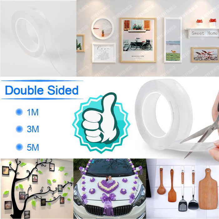 Double-Sided Gel Adhesive Tape [FREE SHIPPING]