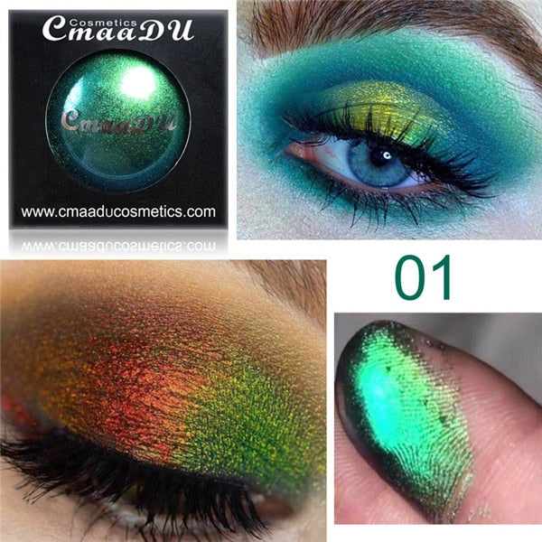 Multi-Chrome Shade Shifting Pigments