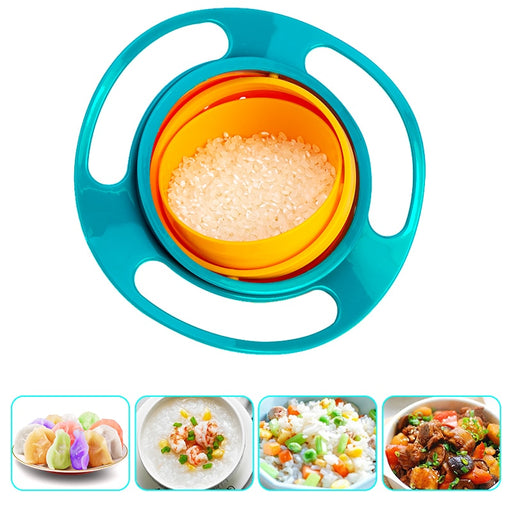360° Rotation Baby Bowl [FREE SHIPPING]