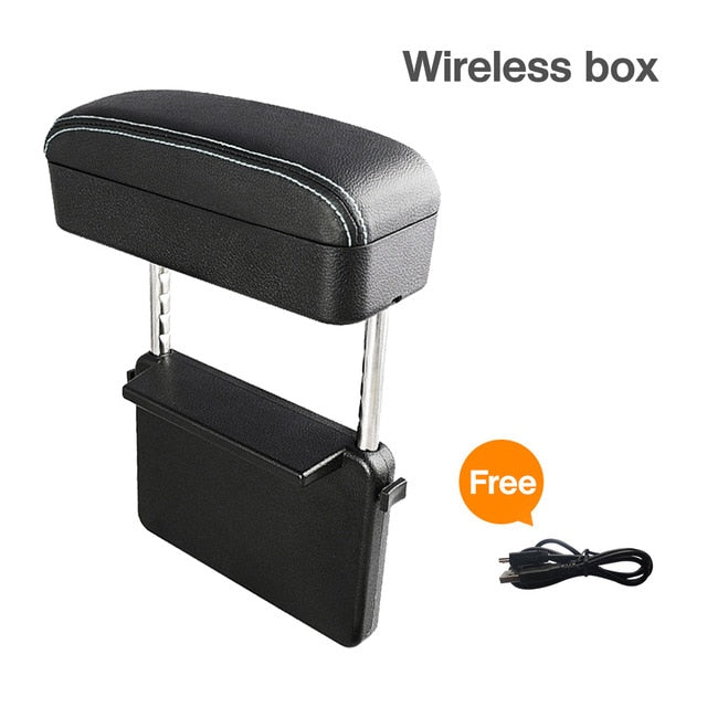 Car Armrest Box With Wireless Charging