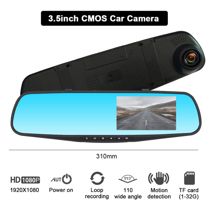 Touch Screen Front And Rear Dash Camera[FREE SHIPPING]