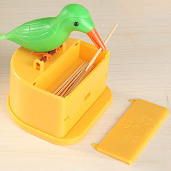 Auto Bird Toothpick Dispenser