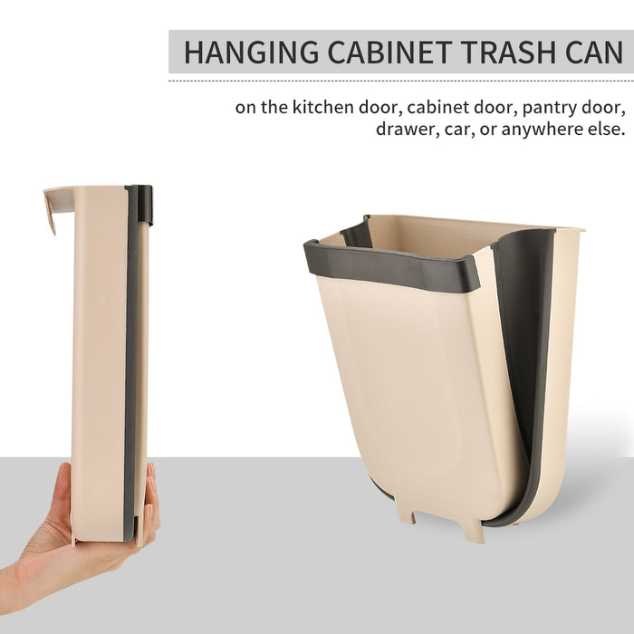 Creative Wall Mounted Folding Waste Bin [FREE SHIPPING]