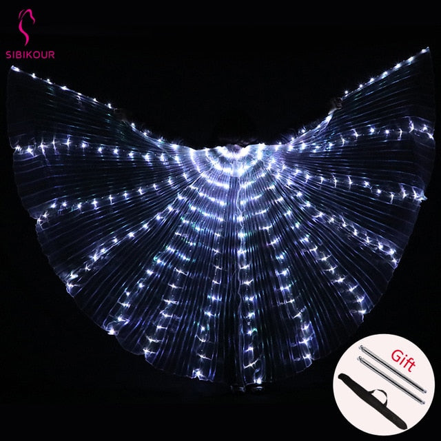 Rainbow Wings - Children's LED Butterfly Costume