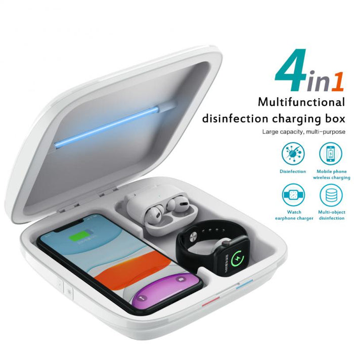 4 In1 Multifunctional Disinfection Charging Box