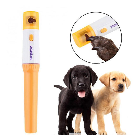 Electric Pet Nail Trimmer Painless
