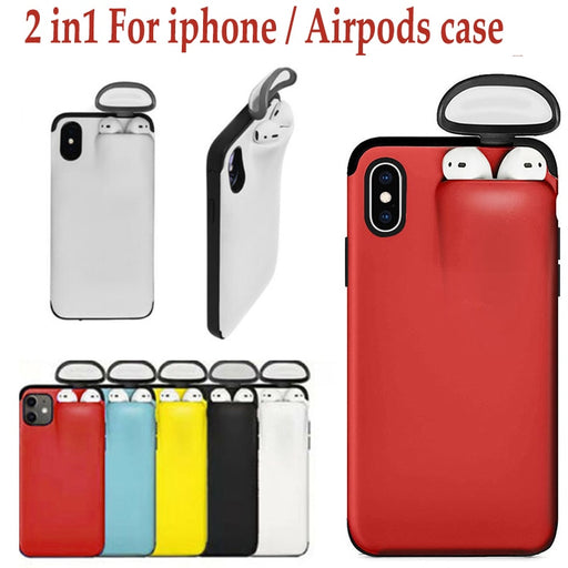2 in 1 Airpods Iphone Case [FREE SHIPPING]