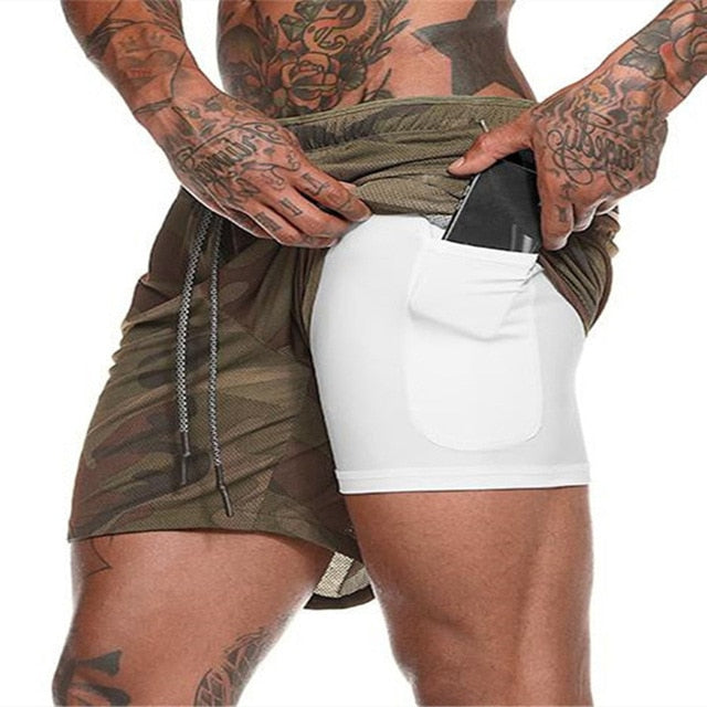 2-in-1 Secure Pocket Fitness Shorts [FREE SHIPPING]