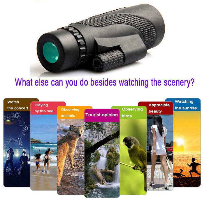 WaterProof 40x60 Monocular Telescope [FREE SHIPPING]
