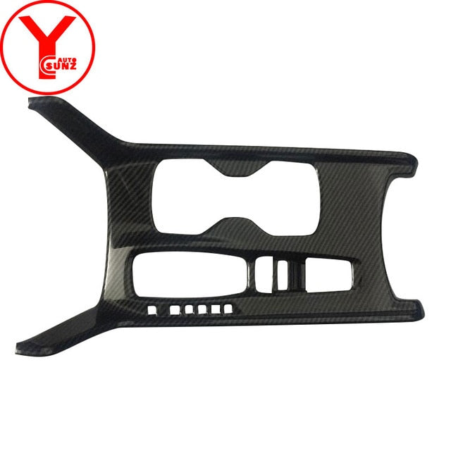 carbon fiber Center Console Shift Lever panel Cover For honda accord LX 10 2018 Interior cars parts auto accessories ABS YCSUNZ