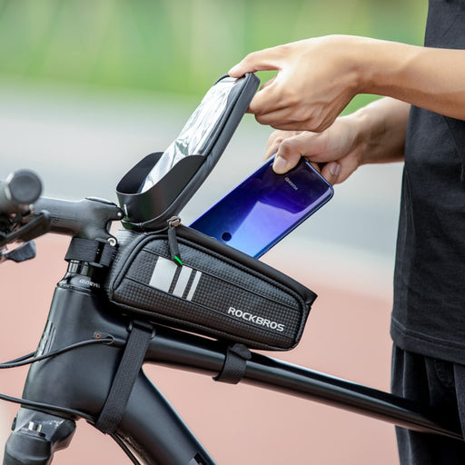 Bike Phone Front Frame Bag