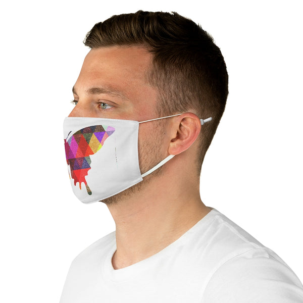 A Butterfly Fabric Face Mask