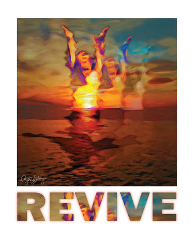Revive, Healing Art Poster
