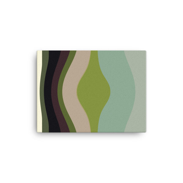 Simple Beauty Series Sage 1 Canvas