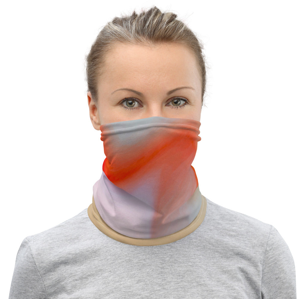 Red Swirl 1 - Neck Gaiter