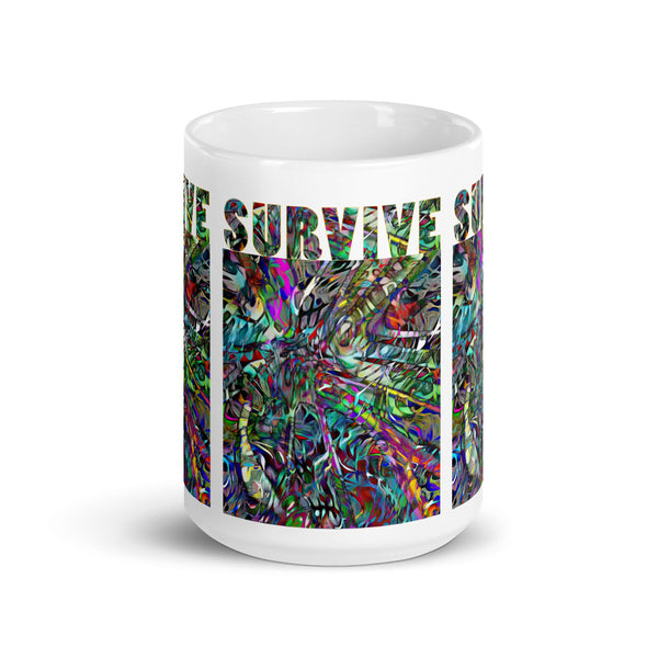 Survive - Mug - Large