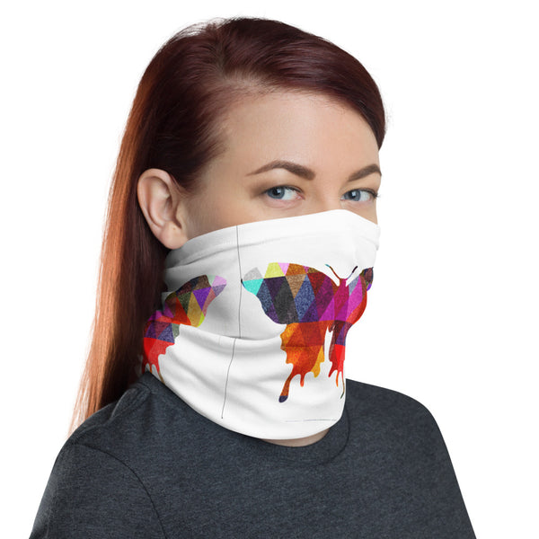 Butterfly color1Neck Gaiter