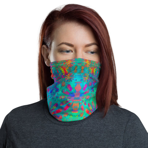 Flower Power -- Neck Gaiter