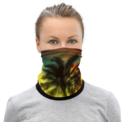 Tropical Sunset - Neck Gaiter