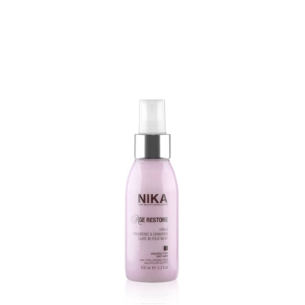 Nika Hyalu anti-rinse hydrating anti-aging treatment - Age restore 100 ml