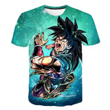 2019 New Arrival Cool Goku Dragon Ball Z 3d T Shirt Summer Fashionable Short Sleeve Tee Tops Men  Anime DBZ Harajuku T-Shirts