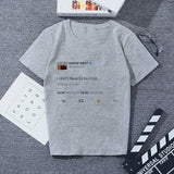 Summer New Wish I Had A Friend Like Me Letter Print Gray Tshirt Large Size Loose Vogue Funny Harajuku Japanese T Shirt Women Top