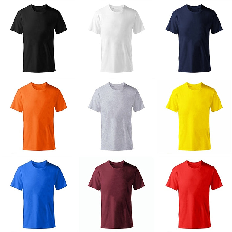 2019 New Solid color T Shirt Mens fashion 100% cotton T-shirts Summer Short sleeve Tee Boy Skate Tshirt Tops Plus size XS-M-XL