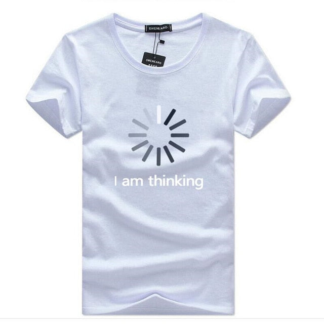 SWENEARO Men's T-Shirts Casual O-Neck short sleeves Print funny t shirts men Summer fashion brand tee shirt homme Tops size 5XL
