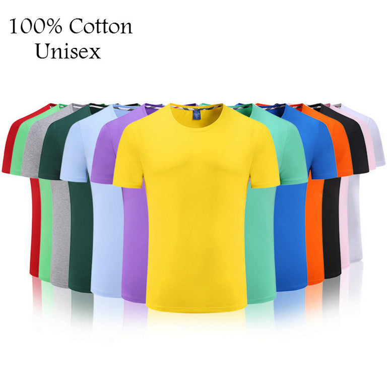 2019 New Solid Color T Shirt Mens Multiple Colors 100% cotton T-shirts Summer Skateboard Tee Tops Boy Skate Tshirt Free shipping