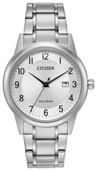 Gent's Citizen Eco-Drive Stainless Steel Bracelet Watch