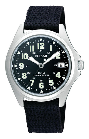 Gents Pulsar Fabric Sports Watch