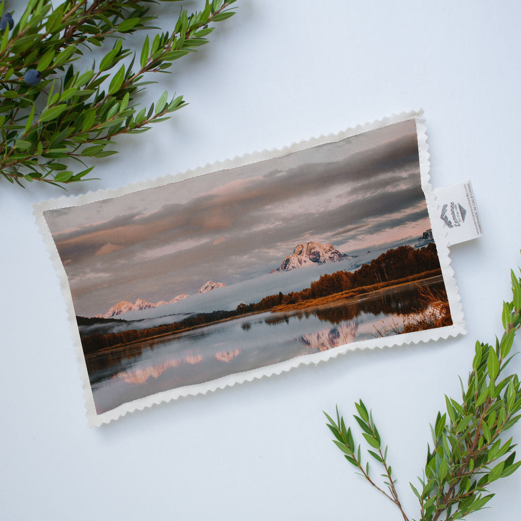 Hot/Cold Microwavable Therapy Pad | The US National Parks: Grand Teton 9886 - Lemonee on the Hills