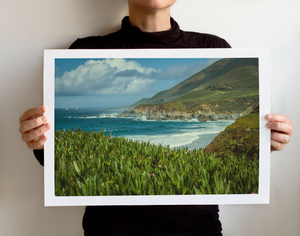 Matte Print | Les Classics: Big Sur - Lemonee on the Hills